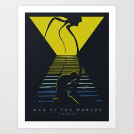 War of the Worlds Art Print