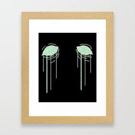 Arcade Blues Framed Art Print