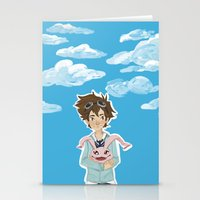 digimon Stationery Cards featuring Digimon Tri by lulovera