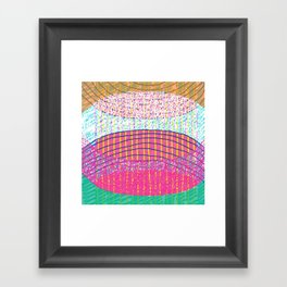 STACKZ Framed Art Print