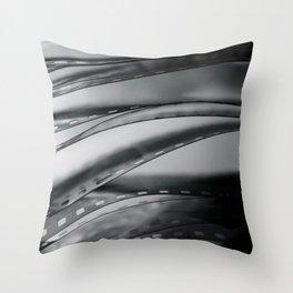 Negatives Throw Pillow