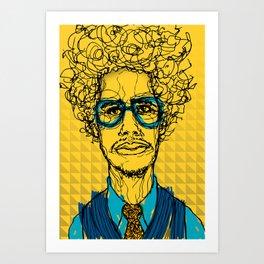 Rodriguez Lopez Art Print