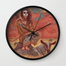 spook of a nation Wall Clock