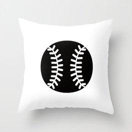 Baseball Ideology Throw Pillow