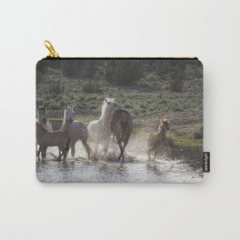 Splashing About At The Waterhole Carry-All Pouch