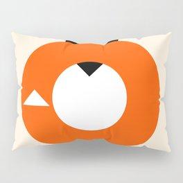A Most Minimalist Fox Pillow Sham