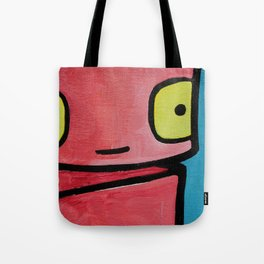 Robot - Sweet To See You Tote Bag