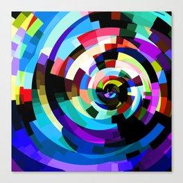 Twirl the Blocks Canvas Print