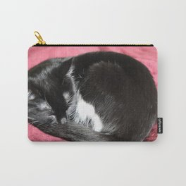 Kitty nap time. Carry-All Pouch