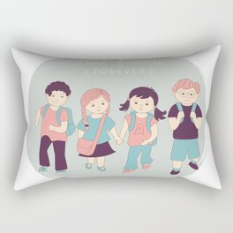 Best friends Rectangular Pillow