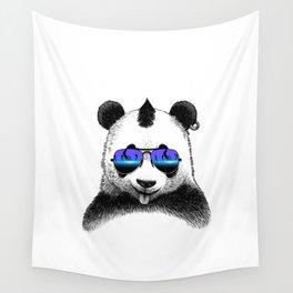 DJ Punk Panda Wall Tapestry