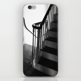 Staircase at Duportail House iPhone Skin