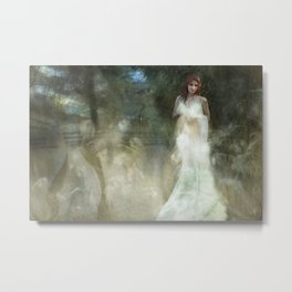 White Witch Metal Print