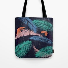 Palms in the Sand | Animals Tote Bag