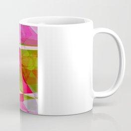 Crape Myrtle Abstract Polygons 2 Coffee Mug