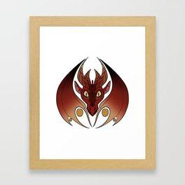 Juno - Western Dragon Framed Art Print