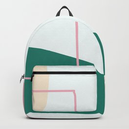 Live with love - on white backgroung Backpack