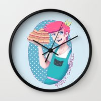 gumball Wall Clocks featuring Gumball by Alice