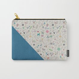 Pez Otomi ultramarine by Ana Kane Carry-All Pouch