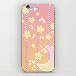 Tutti Fruity Moon Star iPhone Skin