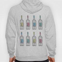 Wine bottles Hoody