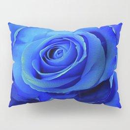 BLUE ROSES & BLUE  MODERN ART CONCEPT Pillow Sham