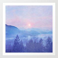 Pastel vibes 12 O-P Art Print
