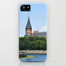 Place Fishing Village - ethnographic center and Cathedral. Kaliningrad iPhone Case