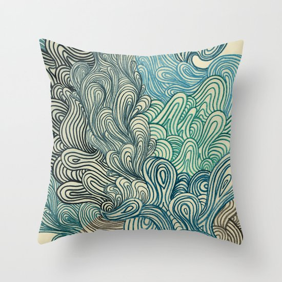 Friday Afternoon Throw Pillow