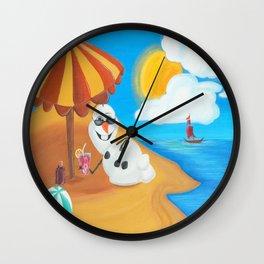 Innnnnn Summmmmerrr Wall Clock