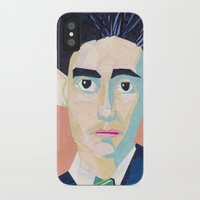 kafka iPhone & iPod Cases featuring Franz Kafka by Ellen Pater