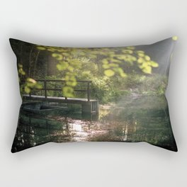 Calm forest II Rectangular Pillow