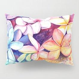Plumeria Fun Pillow Sham