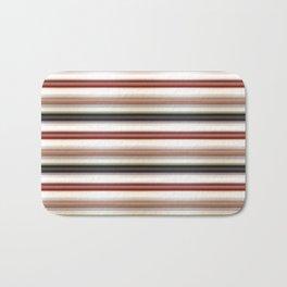 Horizontal Lines Bath Mat