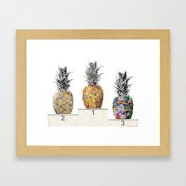 Top Pineapple 01 Framed Art Print