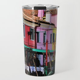 Burano, Venetian Island Travel Mug
