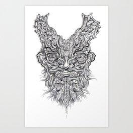 Batbloke Art Print