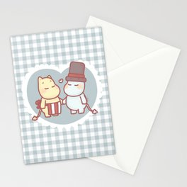 Together Forever - Moominmmama Momominpappa Stationery Cards