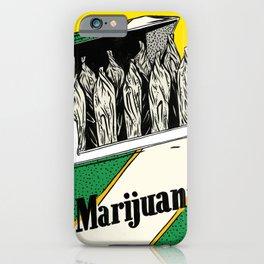 Mainstream Marijuana iPhone Case