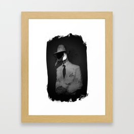 N°4 Framed Art Print