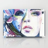 lunar iPad Cases featuring lunar mistery by Cora-Tiana