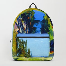 George Bellows The Grove Backpack