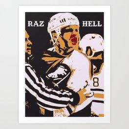 RAZ HELL Art Print