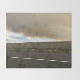 I-25 Storm Throw Blanket