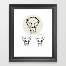 cool sketch 90 Framed Art Print