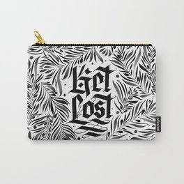 Get Lost monochromatic Carry-All Pouch