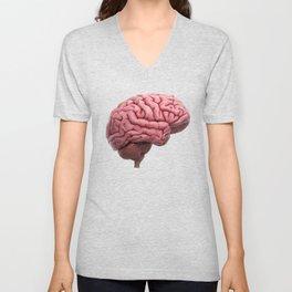 Scientific Human Brain Study Unisex V-Neck