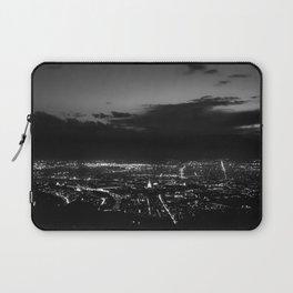 Torino wears black Laptop Sleeve