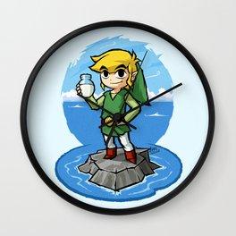 Legend of Zelda Wind Waker Bottle of Milk T-Shirt Wall Clock