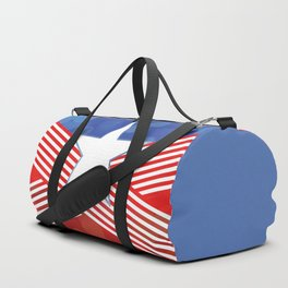 Red White And Blue Party Duffle Bag